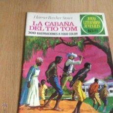 Tebeos: JOYAS LITERARIAS JUVENILES Nº 18. LA CABAÑA DEL TIO TOM. 1ª EDICION 1971. BRUGUERA. LABERINTO ROJO.. Lote 51748168
