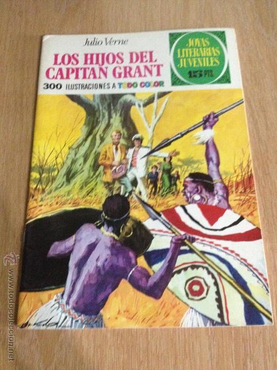 JOYAS LITERARIAS JUVENILES Nº 9. LOS HIJOS CAPITAN GRANT. 1ª EDICION 1970. BRUGUERA. LABERINTO ROJO. (Tebeos y Comics - Bruguera - Joyas Literarias)