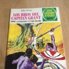 Tebeos: JOYAS LITERARIAS JUVENILES Nº 9. LOS HIJOS CAPITAN GRANT. 1ª EDICION 1970. BRUGUERA. LABERINTO ROJO.. Lote 51749888