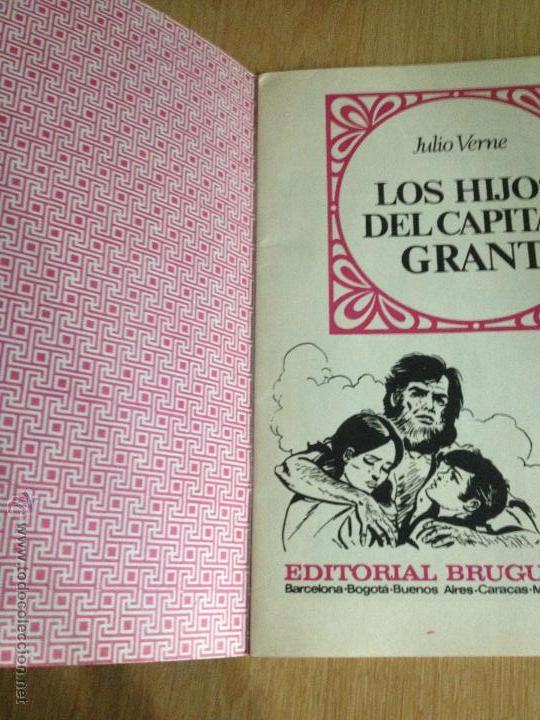 Tebeos: JOYAS LITERARIAS JUVENILES Nº 9. LOS HIJOS CAPITAN GRANT. 1ª EDICION 1970. BRUGUERA. LABERINTO ROJO. - Foto 2 - 51749888