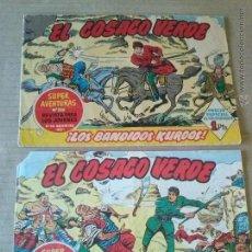 Tebeos: EL COSACO VERDE Nº 1 Y 2 - BRUGUERA -T. Lote 51774627