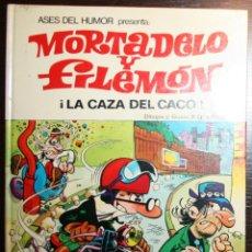 Tebeos: MORTADELO Y FILEMÓN - ¡ LA CAZA DEL CACO ! - F. IBAÑEZ - ED. BRUGUERA - 2ª EDICIÓN 1980. Lote 51782465