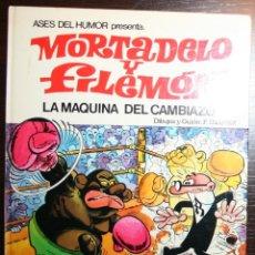 Tebeos: MORTADELO Y FILEMÓN - LA MÁQUINA DEL CAMBIAZO - F. IBAÑEZ - ED. BRUGUERA - 2ª EDICIÓN 1979 . Lote 51782508