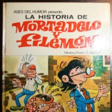 Tebeos: LA HISTORIA DE MORTADELO Y FILEMÓN - F. IBAÑEZ - ED. BRUGUERA - 1ª EDICIÓN 1971 . Lote 51782555