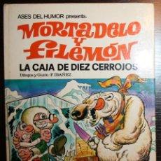 Tebeos: MORTADELO Y FILEMÓN - LA CAJA DE LOS DIEZ CERROJOS - F. IBAÑEZ - ED. BRUGUERA - 2ª EDICIÓN 1980 . Lote 51782587