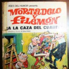 Tebeos: MORTADELO Y FILEMÓN - ¡A LA CAZA DEL CUADRO! - F. IBAÑEZ - ED. BRUGUERA - 1ª EDICIÓN 1971. Lote 51782633