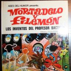Tebeos: MORTADELO Y FILEMÓN - LOS INVENTOS DEL PROFESOR BACTERIO - IBAÑEZ - ED. BRUGUERA - 2ª EDICIÓN 1979 . Lote 51782667