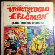 Tebeos: MORTADELO Y FILEMÓN - LOS MONSTRUOS - F. IBAÑEZ - ED. BRUGUERA - 1ª EDICIÓN 1973. Lote 51783147