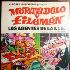 Tebeos: MORTADELO Y FILEMÓN - LOS AGENTES DE LA T.I.A. - F. IBAÑEZ - ED. BRUGUERA - 1ª EDICIÓN 1981. Lote 51799853
