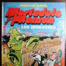 Tebeos: MORTADELO Y FILEMÓN - LOS INVASORES - F. IBAÑEZ - ED. B - 1ª EDICIÓN 1990. Lote 51800154