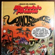 Tebeos: MORTADELO Y FILEMÓN - LOS DINOSAURIOS - F. IBAÑEZ - ED. B - 1ª EDICIÓN 1993. Lote 51800173