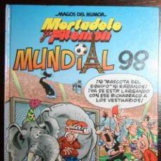 Tebeos: MORTADELO Y FILEMÓN - MUNDIAL 98 - F. IBAÑEZ - ED. B - 2ª EDICIÓN 1998. Lote 51800213
