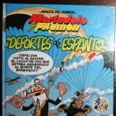 Tebeos: MORTADELO Y FILEMÓN - ¡DEPORTES DE ESPANTO! - F. IBAÑEZ - ED. B - 1ª EDICIÓN 1998. Lote 51800249