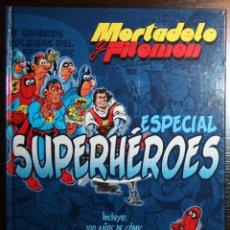 Tebeos: MORTADELO Y FILEMÓN - ESPECIAL SUPERHÉROES - F. IBAÑEZ - ED. B - 1ª EDICIÓN 2007. Lote 51800326