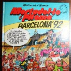 Tebeos: MORTADEL.LO Y FILEMÓ - BARCELONA'92 - F. IBAÑEZ - ED. B - 4ª EDICIÓN 1992 - EN CATALÁN. Lote 51800363