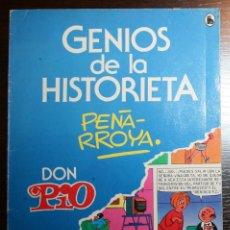 Tebeos: GENIOS DE LA HISTORIETA Nº 2 - PEÑARROYA - DON PIO - ED. BRUGUERA - 1985. Lote 51800468