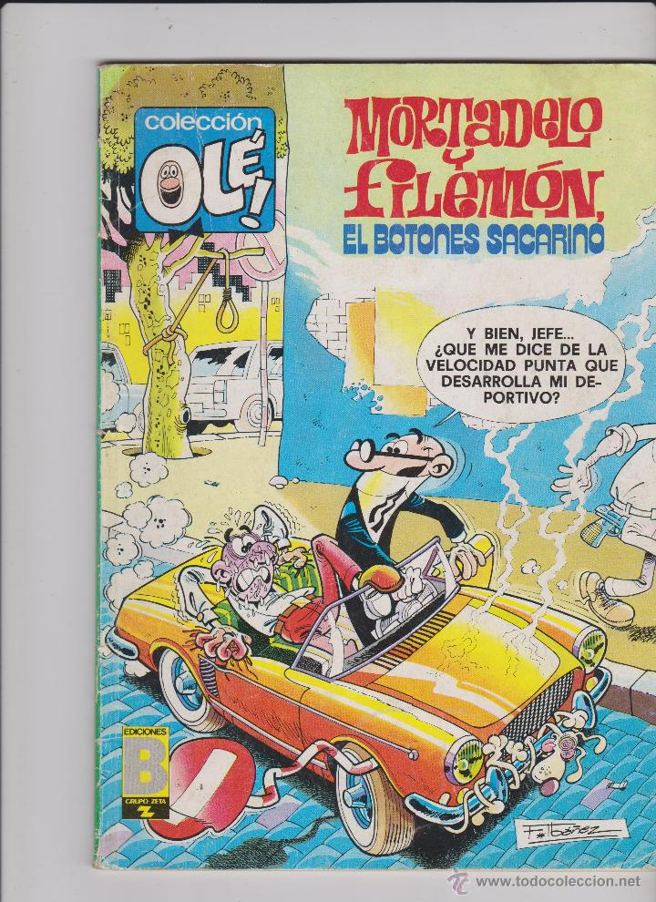 TEBEO MORTADELO Y FILEMON Nº 166 DE 1988 (Tebeos y Comics - Bruguera - Mortadelo)