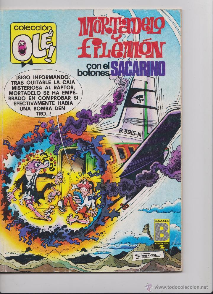 TEBEO MORTADELO Y FILEMON Nº 165 DE 1988 (Tebeos y Comics - Bruguera - Mortadelo)