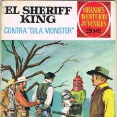 Tebeos: EL SHERIFF KING NUMERO 24 CONTRA GILA MONSTER. Lote 51815345