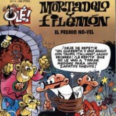 Tebeos: MORTADELO Y FILEMÓN. OLÉ Nº 4 EL PREMIO NO-VEL - 2ª EDICIÓN JUNIO 1995. Lote 51819938