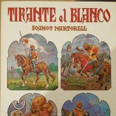 Tebeos: TIRANTE EL BLANCO DE JOANOT MARTORELL EDITORIAL BRUGUERA. Lote 51927183