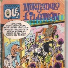 Tebeos: MORTADELO Y FILEMON COLECCION OLE/6ª EDICION FEBRERO 1984. Lote 52076326