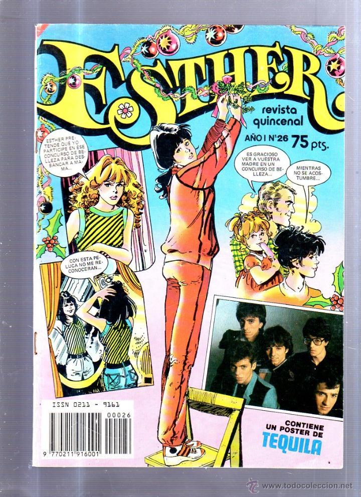 REVISTA QUINCENAL. ESTHER. AÑO I. Nº 26. EDITORIAL BRUGUERA. 20 DICIEMBRE 1982 (Tebeos y Comics - Bruguera - Esther)