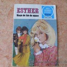 Tebeos: ESTHER,VIAJE DE FIN DE CURSO,JOYAS LITERARIAS JUVENILES,SERIE AZUL Nº 20,2ª EDICION,1981,BUEN ESTADO. Lote 52139066