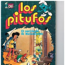 Tebeos: LOS PITUFOS,EL SORTILEGIO DE MALASOMBRA.COLECCIÓN OLÉ.EDIT. BRUGUERA.. Lote 52317119