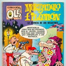 Tebeos: COLECCIÓN OLÉ! - MORTADELO Y FILEMÓN - ED. BRUGUERA - Nº 89 - 1ª EDICIÓN - 1973. Lote 35917969