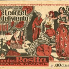 Tebeos: ARCHIVO (106). CUENTOS ROSITA Nº 3 (BRUGUERA, 1964). Lote 52354381