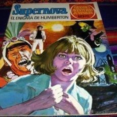 Tebeos: SUPERNOVA Nº 50 EL ENIGMA HUMBERTON. BRUGUERA 1973. MUY BUEN ESTADO.. Lote 45612411