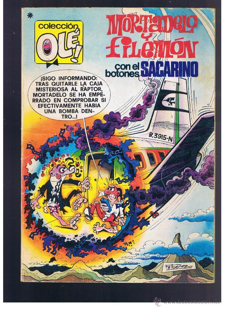 OLÉ. MORTADELO Y FILEMON Nº 165. 1ª EDICIÓN BRUGUERA 1978 (Tebeos y Comics - Bruguera - Ole)
