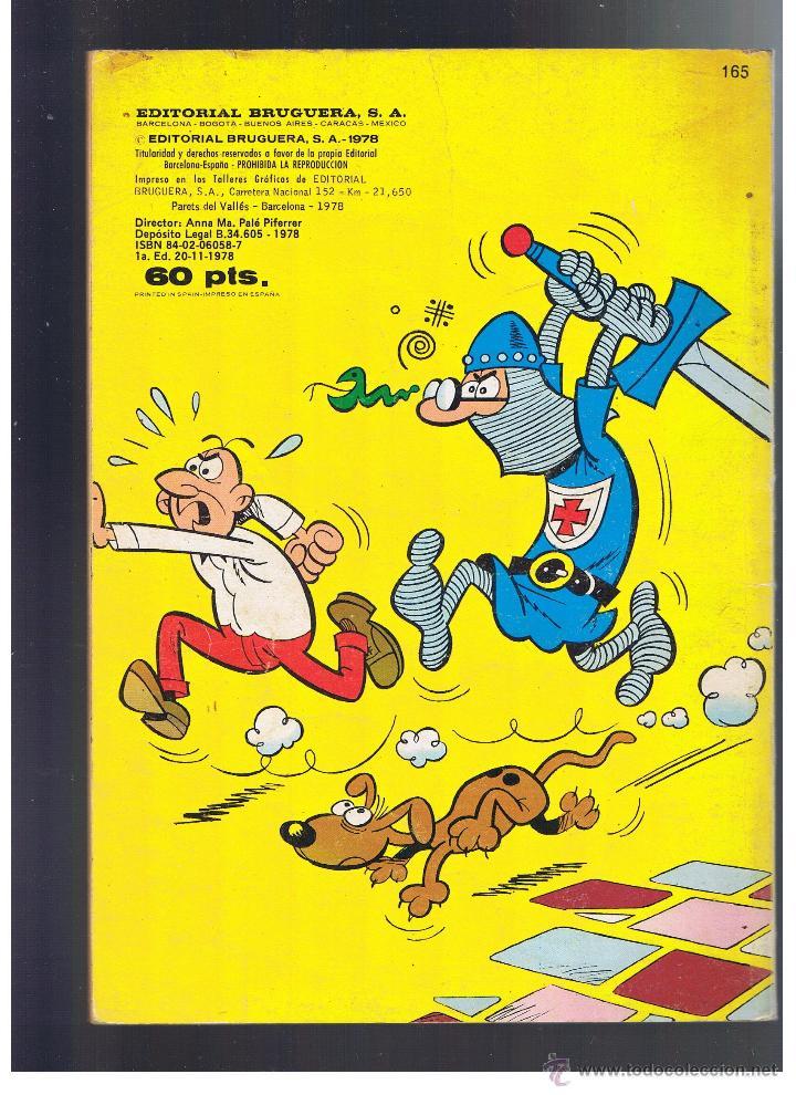 Tebeos: Olé. Mortadelo y Filemon nº 165. 1ª Edición Bruguera 1978 - Foto 2 - 52394208
