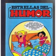 Tebeos: ESTRELLAS DEL HUMOR Nº 6. EDICIONES B. 1987. CON 4 NÚMEROS RETAPADO. Lote 52394713