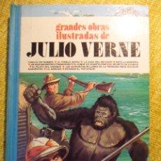 Tebeos: GRANDES OBRAS ILUSTRADAS DE JULIO VERNE. 5. EDITORIAL BRUGUERA, 1ª EDICION 1979. TAPA DURA. COLOR. 9. Lote 52438827