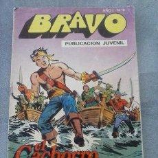 Tebeos: TEBEO BRAVO Nº 9 EL CACHORRO.. Lote 52441829