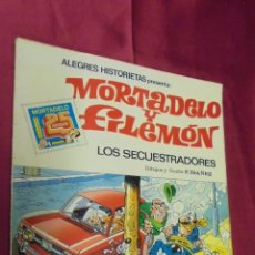 Tebeos: ALEGRES HISTORIETAS. MORTADELO Y FILEMON. Nº 6. LOS SECUESTRADORES. BRUGUERA.. Lote 52465725