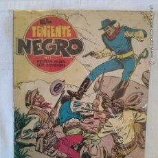 Tebeos: EL TENIENTE NEGRO ,COMPLETA - BRUGUERA -GA -ORIGINAL - BUEN ESTADO. Lote 52587446