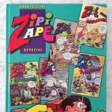 Tebeos: GRAN FESTIVAL ZIPI ZAPE ESPECIAL - TOMO Nº 2 - NºS 148-149-150-151-152 - ED. BRUGUERA - 1985. Lote 52593321