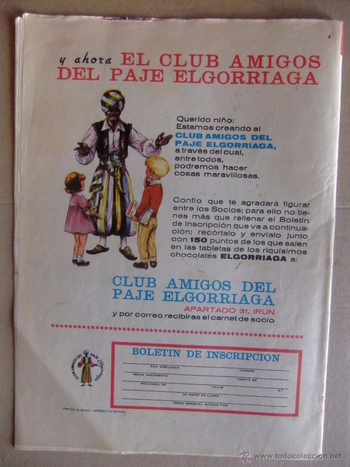 Tebeos: DIN DAN Nº 4 PRIMERA EPOCA MAYO DE 1965 - Foto 2 - 52610065