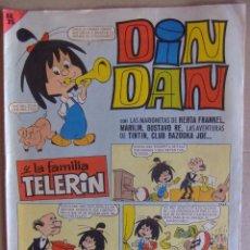 Tebeos: DIN DAN Nº 6 PRIMERA EPOCA MAYO DE 1965. Lote 52610113