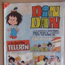 Tebeos: DIN DAN Nº 8 PRIMERA EPOCA JUNIO DE 1965. Lote 52610132
