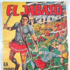 Tebeos: EL JABATO , ALBUM GIGANTE Nº 7 , LA CIUDAD SUMERGIDA , BRUGUERA . Lote 52647624
