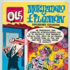 Tebeos: COLECCIÓN OLÉ! - MORTADELO Y FILEMÓN - ED. BRUGUERA - Nº 152 - 2ª EDICIÓN - 1979. Lote 52660955