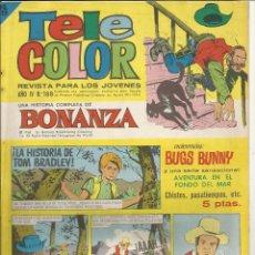 Tebeos: TELE COLOR AÑO IV - Nº 188 - BONANZA. Lote 52671577