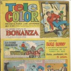 Tebeos: TELE COLOR AÑO IV - Nº 200 - BONANZA. Lote 52671857