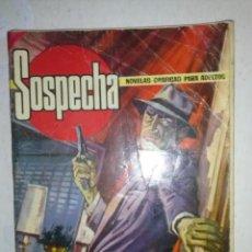 Tebeos: SOSPECHA- Nº 25 -LOS FANÁTICOS- 1966-EL GRAN ANTONIO GARCÍA-DIFÍCIL- MUY ESCASO-MUY BUENO-LEAN-9553. Lote 137462505