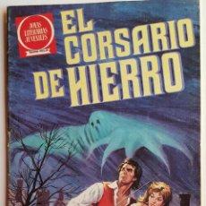 Tebeos: JOYAS LITERARIAS JUVENILES, Nº 1 - 2º DE 1980 - BRUGUERA - SERIE ROJA - EL CORSARIO DE HIERRO. Lote 52715316
