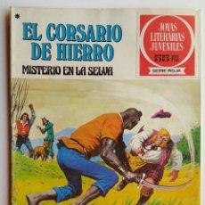 Tebeos: JOYAS LITERARIAS JUVENILES, Nº 48 - 1º DE 1978 - BRUGUERA - SERIE ROJA - EL CORSARIO DE HIERRO. Lote 52715554
